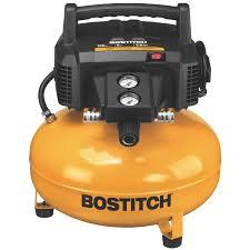 Bosch Roofing Nail Gun by Bostitch 6 Gal 150 Psi Oil Free Portable Pancake Air Compressor