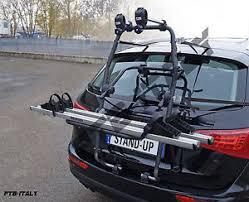 porta bici auto portabici posteriore auto 2 bici stand up 2 menabo audi a3