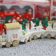 Train Decor Christmas Decoration For Home Little Train Popular Wooden Train