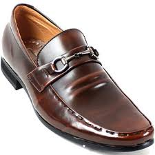 buy new mens dress formal leather shoes buckle loafers slip on