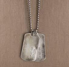 customized dog tag necklaces sterling silver personalized dog tag jewelry for adults