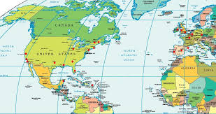 map usa to europe map usa and europe major tourist attractions maps