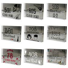 glass door number signs exterior door number signs and exterior signage engraved room