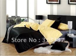 yellow and black bedding queen bedding quilt doona duvet covers