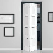 4 Panel Interior Doors White Panel Interior Bifold Closet Doors Closet Ideas Interior