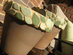 susan snyder clay pot mosaic
