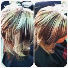 chunky short haircuts short hairstyles top short hairstyles with chunky highlights