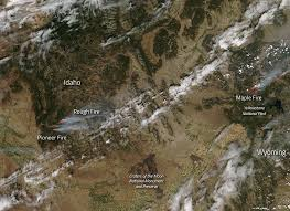 New Mexico Wildfire Map by Fires In The Gila Wilderness New Mexico Nasa