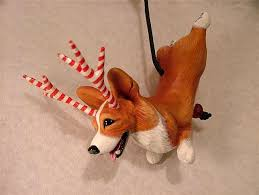 corgi ornament viii in series by camille meeker turner from