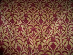 designer trellis manor fleur de lis renaissance cut velvet fabric