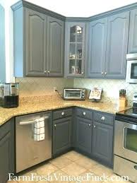 painted kitchen cabinets ideas colors painted gray kitchen cabinets paml info