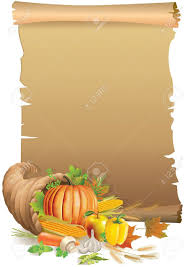 background for thanksgiving retro background thanksgiving with the old paper and cornucopia