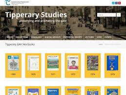 online yearbook database tipperary studies publishes tipperary gaa yearbooks online