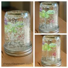easy sticker snow globe craft the outlaw mom blog creative