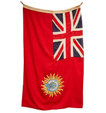 Flag If India Enormous Merchant Red Ensign Flag Of British India Rejuvenation