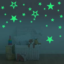 Star Decals For Ceiling by Amaonm Glow In The Dark Stars Wall Decals Removable Vinyl