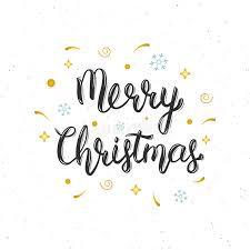 merry christmas modern merry christmas hand written modern brush lettering inscription