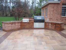 how to make a brick patio grill home outdoor decoration