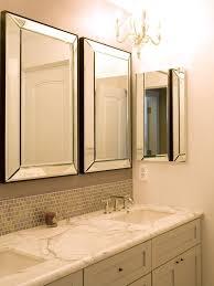 Double Sink Vanity Mirrors Bathroom Vanity Mirrors Over Marble Countertops And Mirror Set