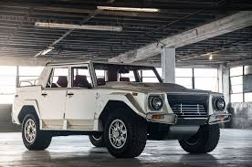 Lambo Truck Price Just Listed 1990 Lamborghini Lm002 With Just 3 300 Miles