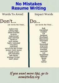 Resume Words To Avoid Impact Words For Resumes Jim Giacomo Giammatteo Pulse Linkedin