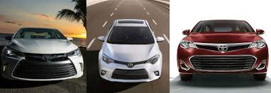 toyota yaris vs corolla comparison 2015 toyota camry vs 2015 toyota corolla vs 2015 toyota avalon