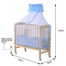 childhome co sleeping bedside crib with wheels 90x50 cm beech
