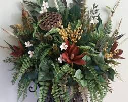 Wall Sconce Floral Arrangements Extra Large Silk Floral Arrangement Transitional Contemporary