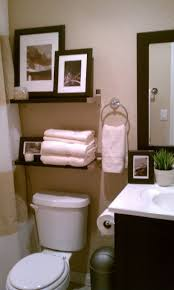Downstairs Bathroom Decorating Ideas Small Bathroom Decorative Storage Above Toulet Bathroom