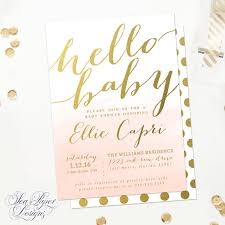 hello baby shower hello baby shower invitation sip and see invitation boy or girl