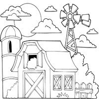 farm animals coloring page farm animals coloring pages surfnetkids