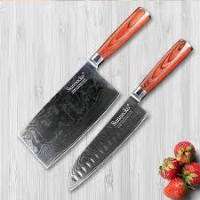 vg10 kitchen knives aliexpress com buy sunnecko 2pcs kitchen knives set japanese vg10