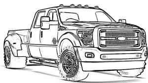 truck ford f450 super duty yescoloring pickup truck coloring