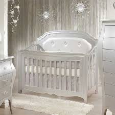 Convertible Crib Sets White 4 In 1 Convertible Crib In Silver From Poshtots If I Where