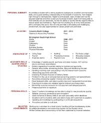 Sample Resume Objectives General by Resume Objective Examples Accounting Student