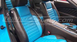 2010 Mustang Black Ford Mustang Leather Interiors