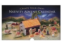 nativity advent calendar bag of badgers create your own nativity advent calendar