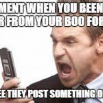 Text Meme - angry text meme generator imgflip