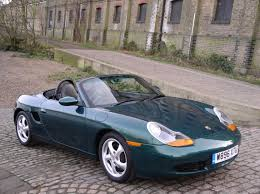 green porsche convertible classic chrome porsche boxster 2 7 2000 w green