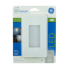 ge led night light ge slimline coverlite night light white jasco