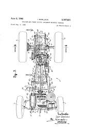 patent us3187821 tractor and power driven implement mounted