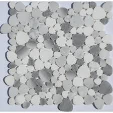 bathroom pebble tiles discount pebble tiles pebble tile mosaics