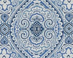 Paisley Upholstery Fabric Uk Blue Floral Light Upholstery Fabric Abstract Floral Design