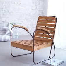 fauteuil en corde fauteuil bois teck vente chaise en bois design tikamoon