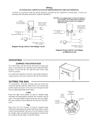 white rodgers fan limit control fan limit control wiring diagram wiring diagram