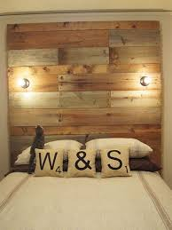 13 DIY Headboards Made From Repurposed Wood