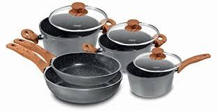 batterie de cuisine en stoneline cuisine maison casseroles poêles et faitouts trouver des
