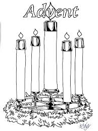 new advent wreath coloring page 13 with additional coloring books