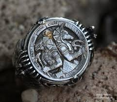 silver lion ring holder images Horus anubis ring anubus pinterest rings jewelry and jpg