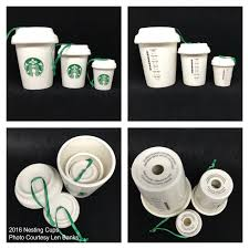 2016 nesting cups starbucks ornament starbucks ornament